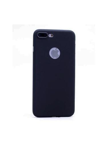 Samsung Iphone 7 Plus /8 Plus Parlak 0.3Mm Sert Kılıf - Siyah Renkli